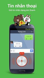 Tải Line Chat miễn phí cho Android 3